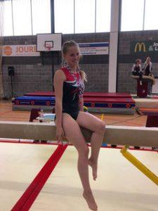 Mariet Kaper wint brons op de Friese kampioenschappen.